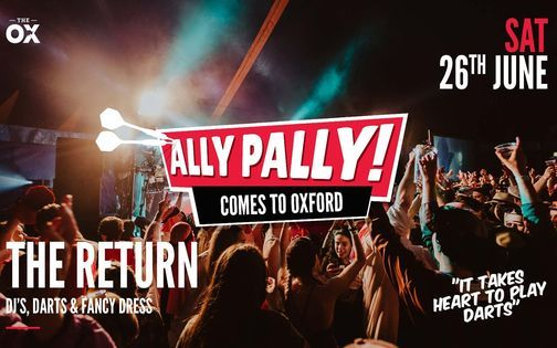 Ally Pally Comes To Brookes Student Darts, 26 June   Event in Oxford   AllEvents.in