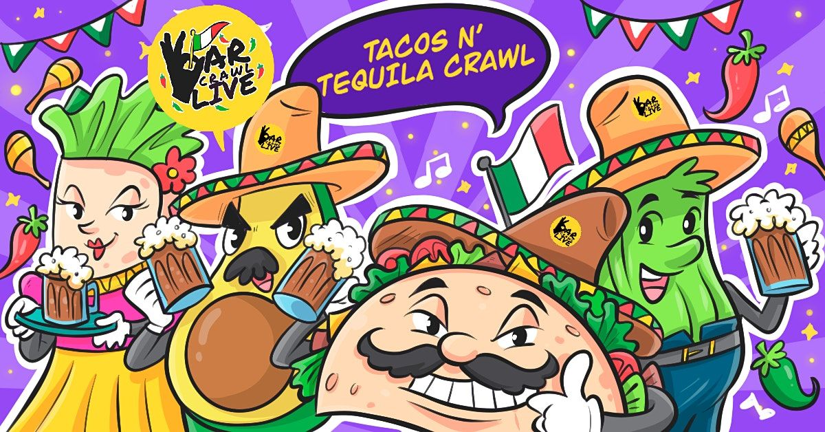 Tacos N' Tequila Crawl | Baltimore, MD - Bar Crawl Live, 8 May | Event in Baltimore | AllEvents.in