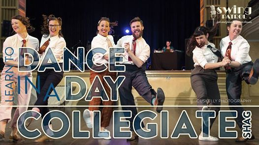 Learn to Dance In A Day Collegiate Shag
