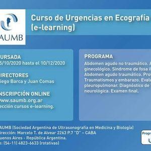 Curso de Urgencias en Ecografa y Doppler (e-learning) 2020