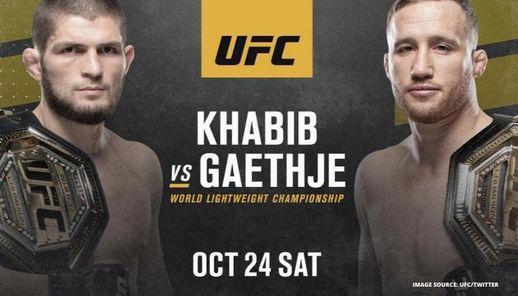 UFC 254: Nurmagomedov vs. Gaethje Live, 24 October | Event in Abu Dhabi | AllEvents.in