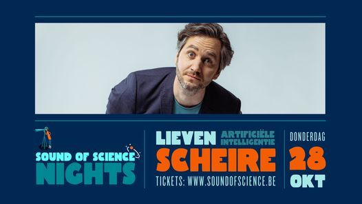 Artificiële Intelligentie⎪Lieven Scheire, 28 October | Event in Antwerp | AllEvents.in