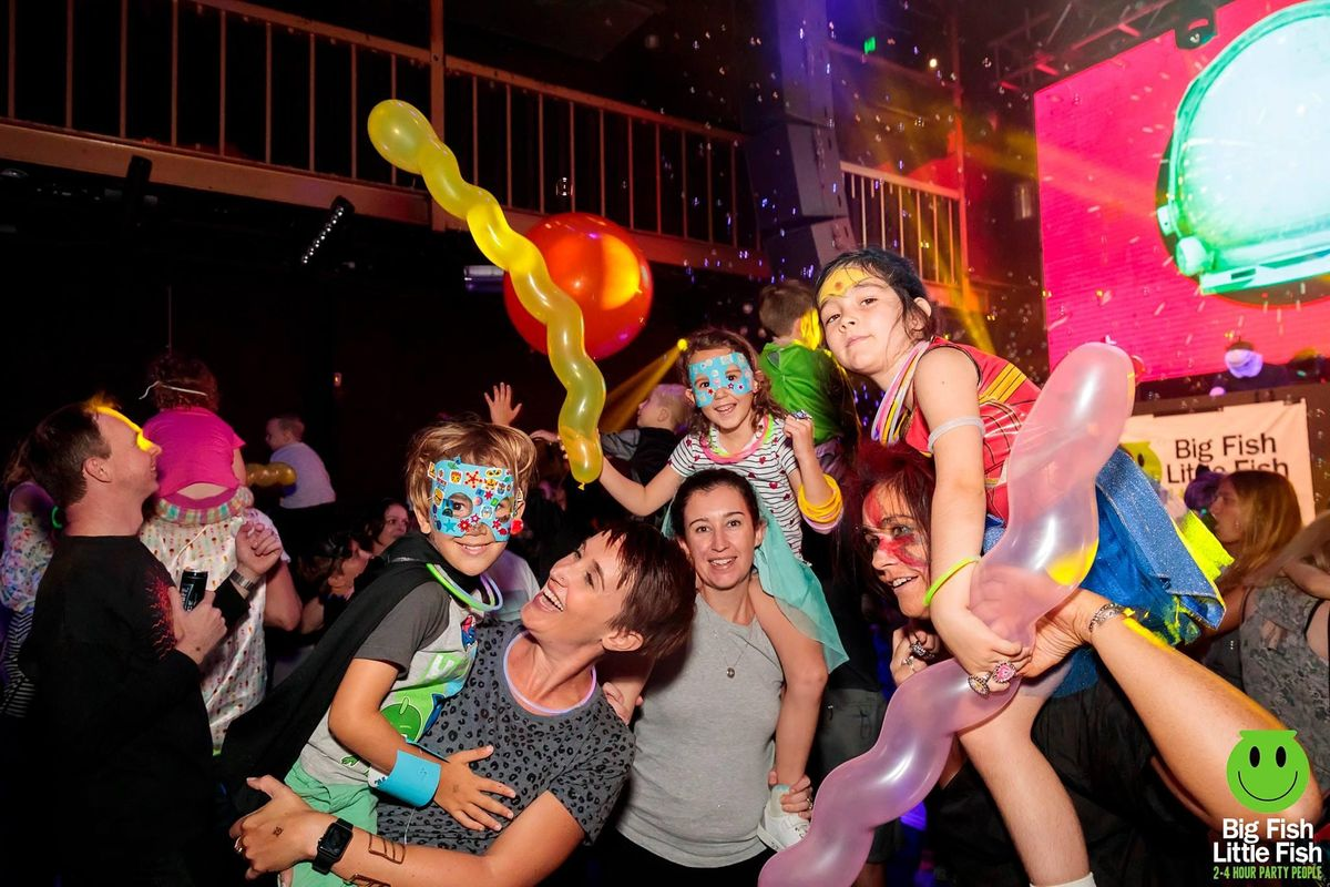 Big Fish Little Fish Edinburgh family rave  - 'Glastonburgh Festival' DJ TBC  UK Garage special , 31 December