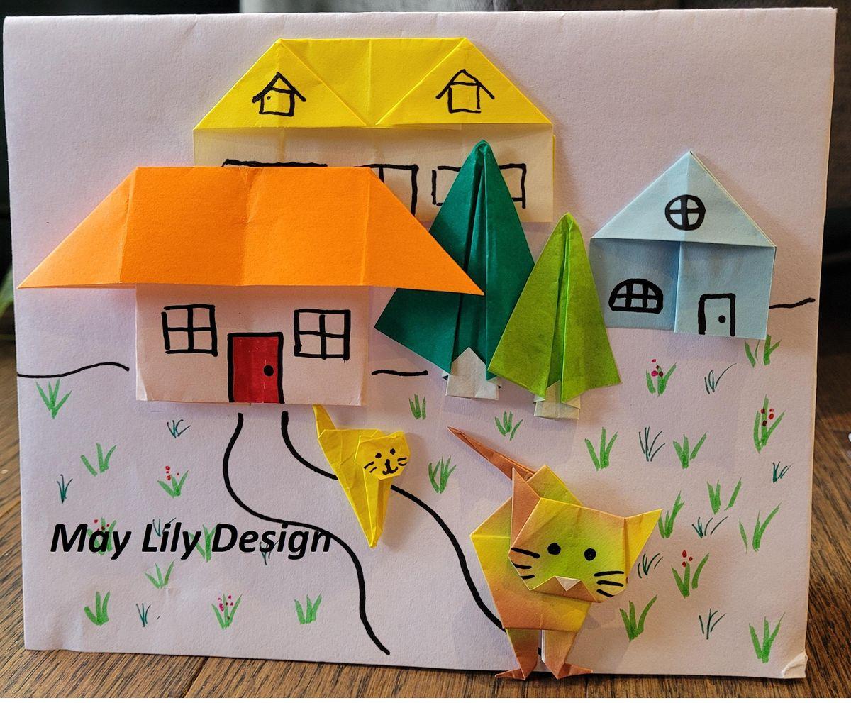 Origami Cat (Fun KIDS Paper Folding Craft Workshop), 13 October   Online Event   AllEvents.in