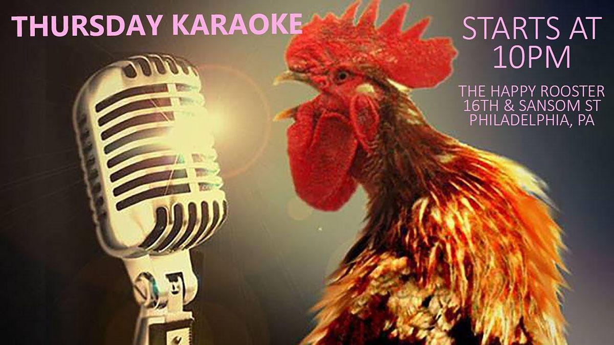 Thursday Karaoke at the Happy Rooster (Philadelphia, PA), 23 September | Event in Philadelphia | AllEvents.in