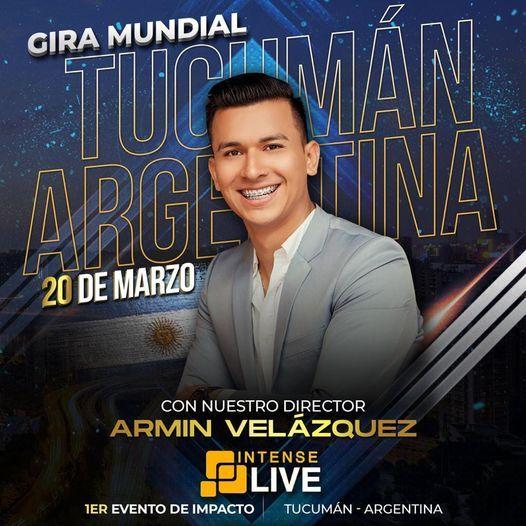 PRIMER EVENTO DE INTENSE LIVE EN ARGENTINA, Hilton Garden Inn Tucuman, Tafí  Del Valle, 20 March