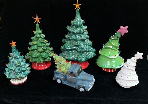 Vintage Christmas Tree Painting Workshop - 2, 13 November   Event in Howell   AllEvents.in
