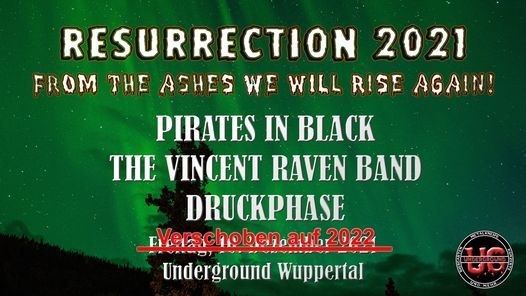 Resurrection 2021 - Underground Wuppertal, 17 September   Event in Wuppertal   AllEvents.in