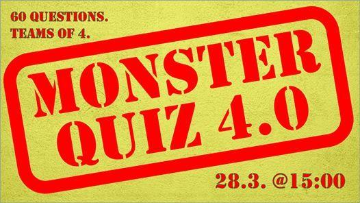 Monster Quiz 4.0