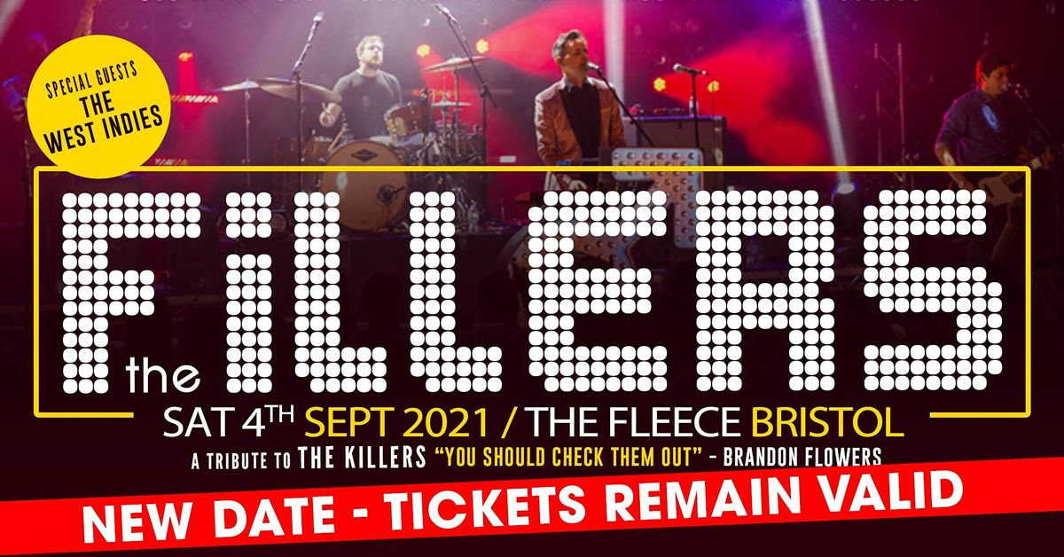The Fillers - a tribute to The Killers, 6 February | Event in Bristol | AllEvents.in