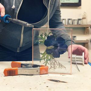 SOLD OUT Soldered Specimen Frame Workshop (In-Person)