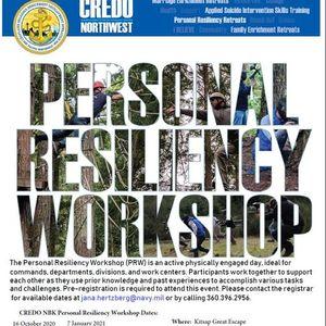 CREDO NBK Personal Resiliency Workshop
