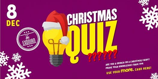 Christmas Quiz - The Exonian