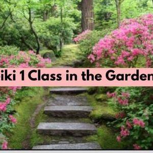 Reiki Level 1 Certification Class in the Garden