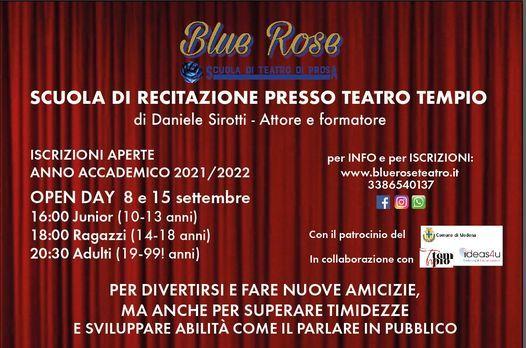 Primo OPEN DAY per l'anno 2021/22, 8 September | Event in Modena | AllEvents.in
