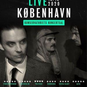 Hugorm  Konservatoriets Koncertsal  12.12.20 (OBS 2 shows)
