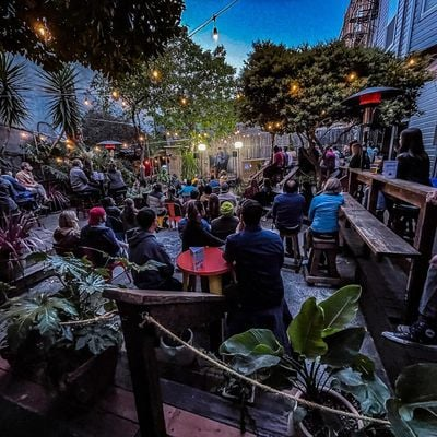 The Setup - Mission Outdoor Comedy at ElRio (Heaters and Social Distance)