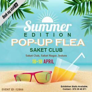 The Pop-Up Flea Summer Edition Saket Club