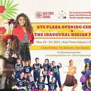 ATS Plaza Opening Ceremony & Inaugural Nesian Festival