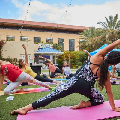 Pilates in Paradise at the Hilton West Palm Beach