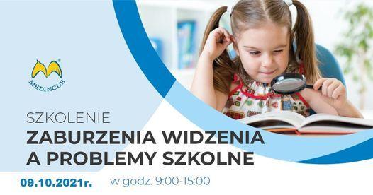 Zaburzenia widzenia a problemy szkolne. Czym jest optodysleksja?, 9 October | Event in Szczecin | AllEvents.in