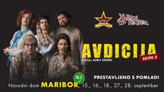 Avdicija - HIT komedija  Maribor