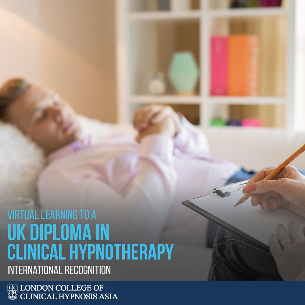 Diploma in Clinical Hypnotherapy, 12 December | Event in Petaling Jaya | AllEvents.in