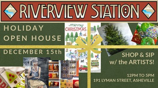 Wnc Christmas Events 2020.Riverview Station Holiday Open House Asheville