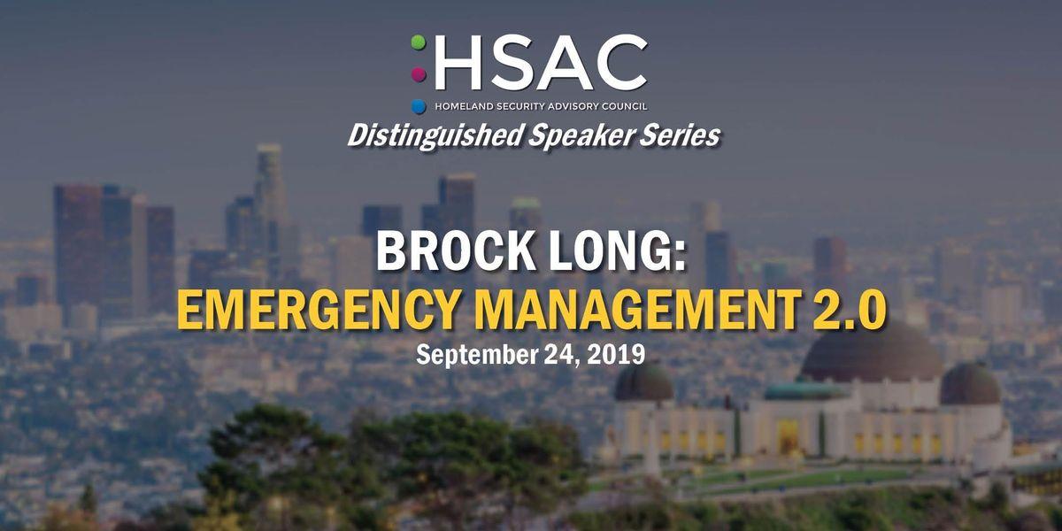 Brock Long Emergency Management 2.0