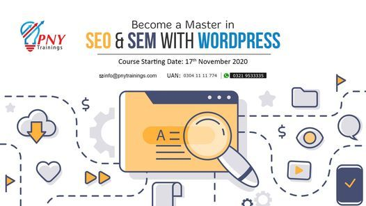 Become a Master in SEO & SEM with WordPress, 17 November | Event in Gujranwala | AllEvents.in