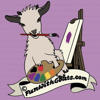 Painting with Goats