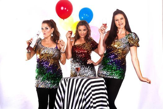THE GLITTER GIRLS - Lisa Bobbert, Liesl Coppin and Marion Loudon, 23 October | Event in Durban North | AllEvents.in