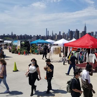 EVERY SATURDAY AND SUNDAY  Greenpoint Terminal Market.