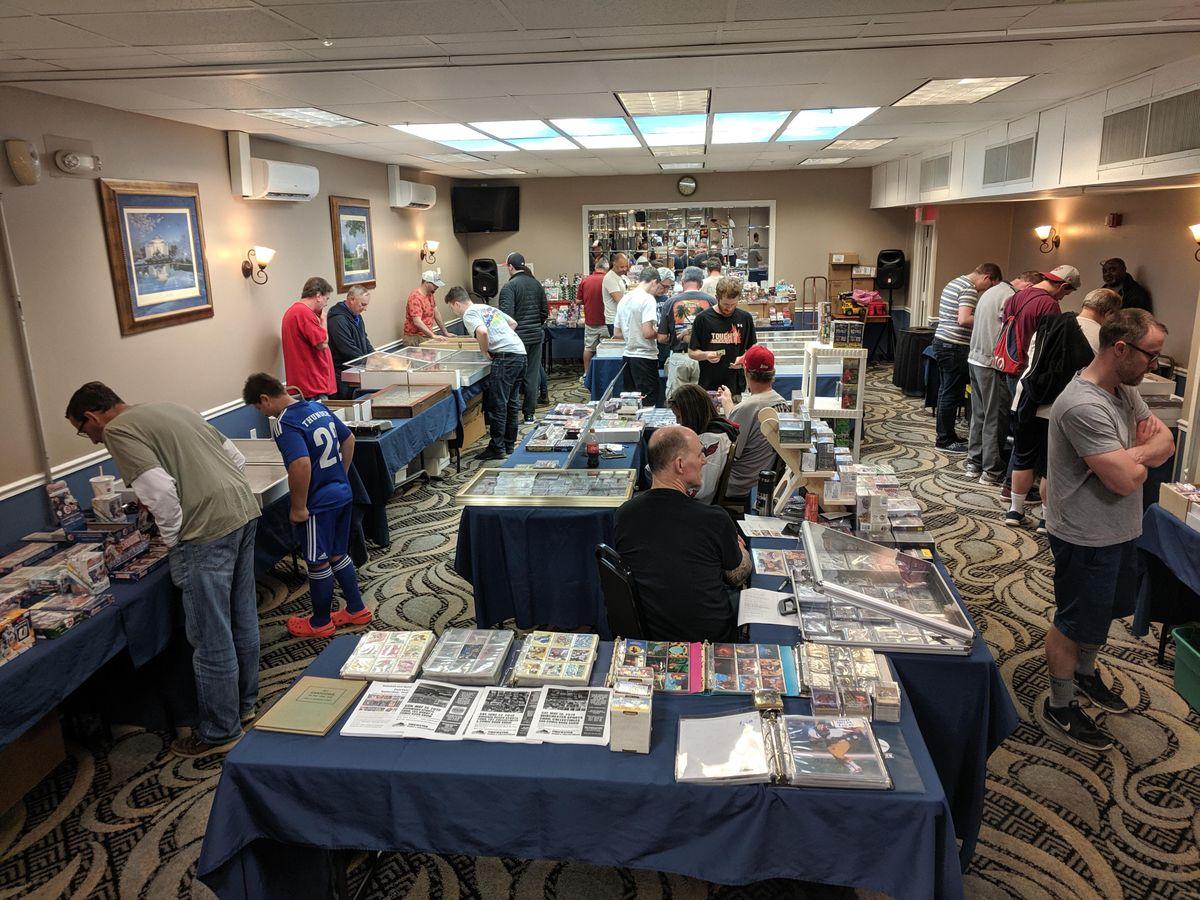 Baseball Sports Card Collectibles Show Comfort Inn Fairfax