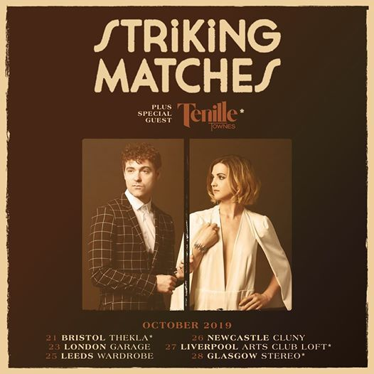 Image result for striking matches gigs