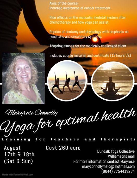 Yoga for Optimal Health Teacher and Therapist Training