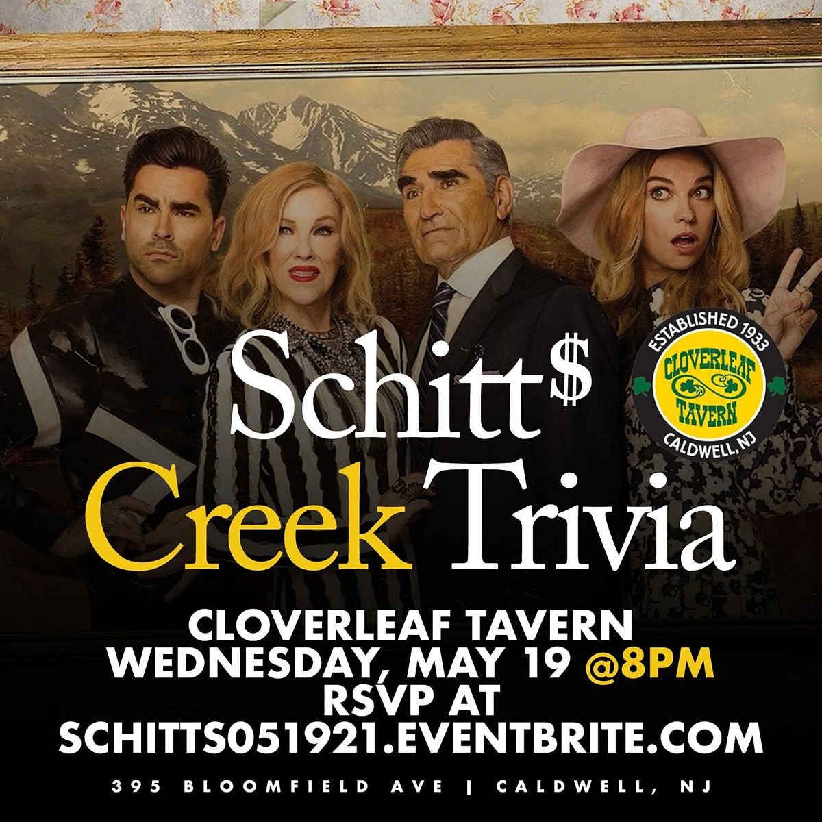Schitt's Creek Trivia, 19 May | Event in Caldwell | AllEvents.in