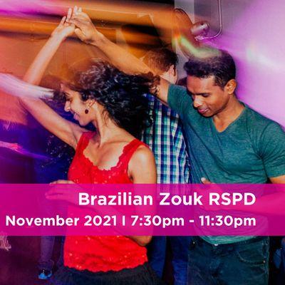 Brazilian Zouk RSPD Dance Night
