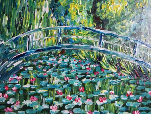 Tribute to Monet ~ Virtual PWJ ~ Free, 23 June | Online Event | AllEvents.in