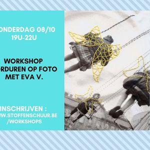 Workshop borduren op foto