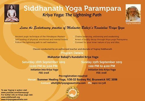 Learn Kundalini Kriya Yoga - Melbourne at Summer Healing