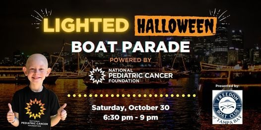 Lighted Halloween Boat Parade | Tampa Riverwalk Presented by Freedom Boat Club of Tampa Bay, 30 October | AllEvents.in
