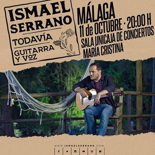 Ismael Serrano en Mlaga. Gira Todava en acstico