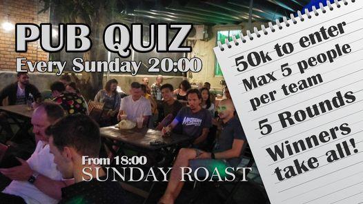 Sunday Pub Quiz, 25 April | Event in Danang | AllEvents.in