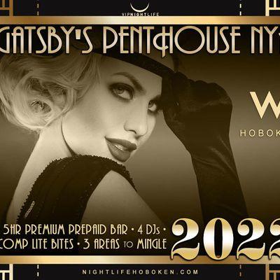 W Hoboken New Years Eve Party 2022 - Gatsbys Penthouse