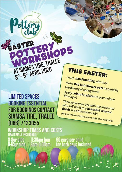 Easter  Workshop Pottery
