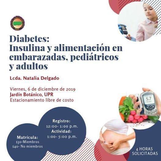 Taller uso de bombas de insulina en embarazadas nios y adultos
