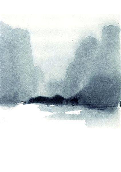Ink Brush Painting Instructor Tamara Mann