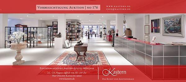 Vorbesichtigung Auktion No 176 Auktionshaus Kastern Hannover