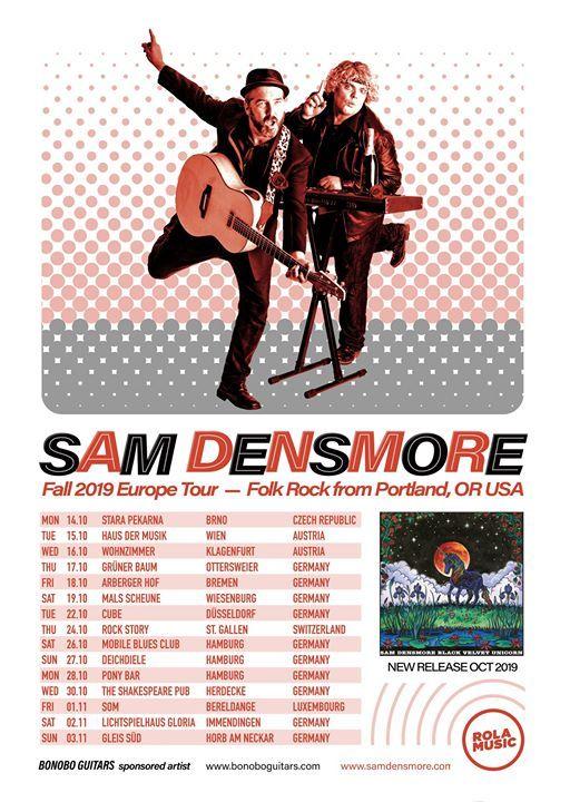 Sam Densmore (USA) Live